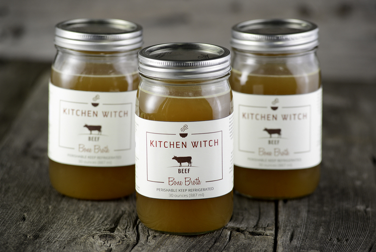 Kitchen Witch Broth - Nourish Your Soul   Barnraiser, March 2015