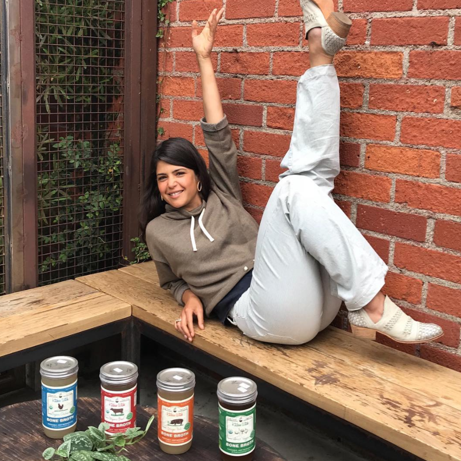 Erewhon Market Gut Health & Bone Broth Interview With Kitchen Witch Co-Founder, Magali Brecke   Facebook Live, January 2018