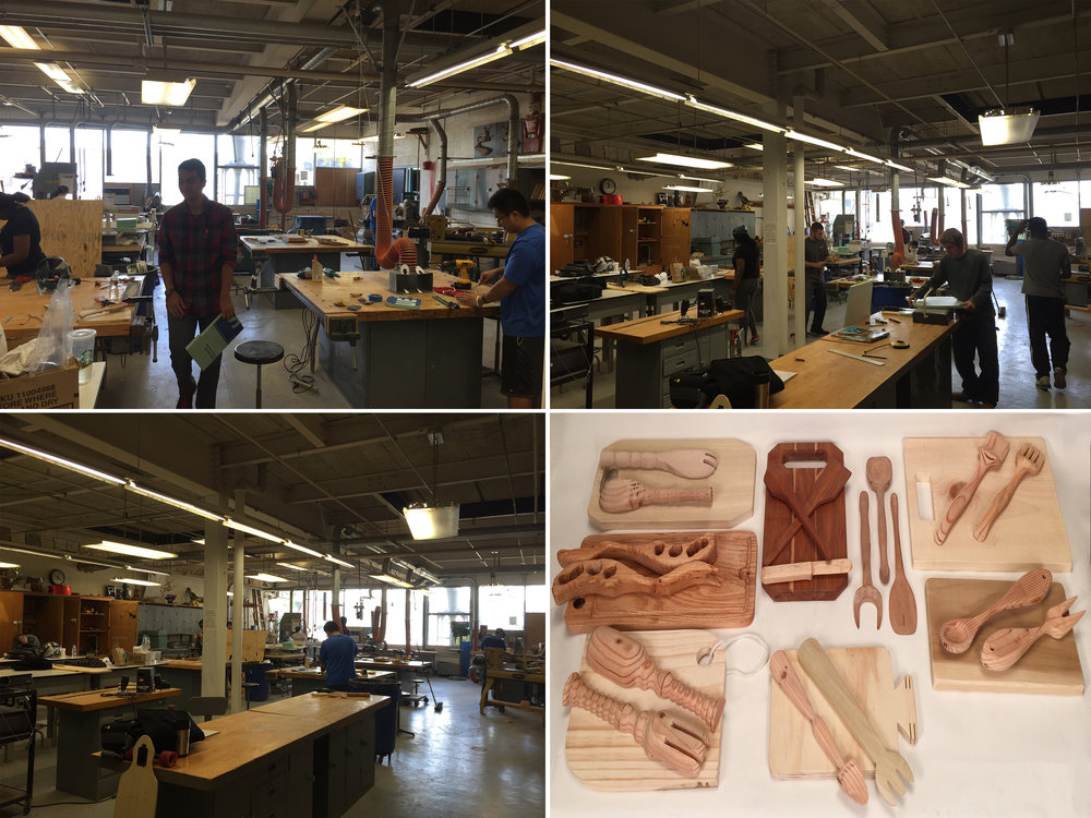 Model Design is a course that introduces students to the shop environment. Here are a few images of the shop and work done by students. Making is FUN!