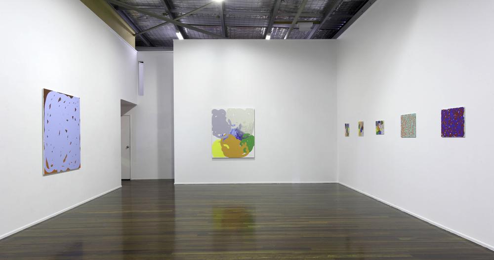 'Collision and Improvisation' 2010  Milani Gallery, Brisbane Installation view