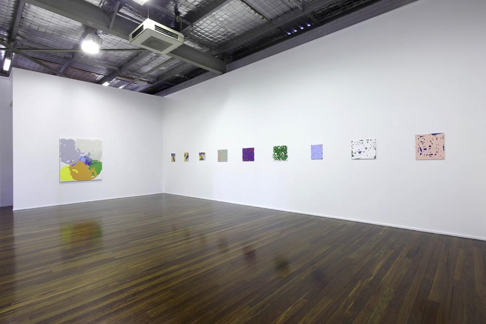 'Collision and Improvisation'2010  Milani Gallery, Brisbane Installation view