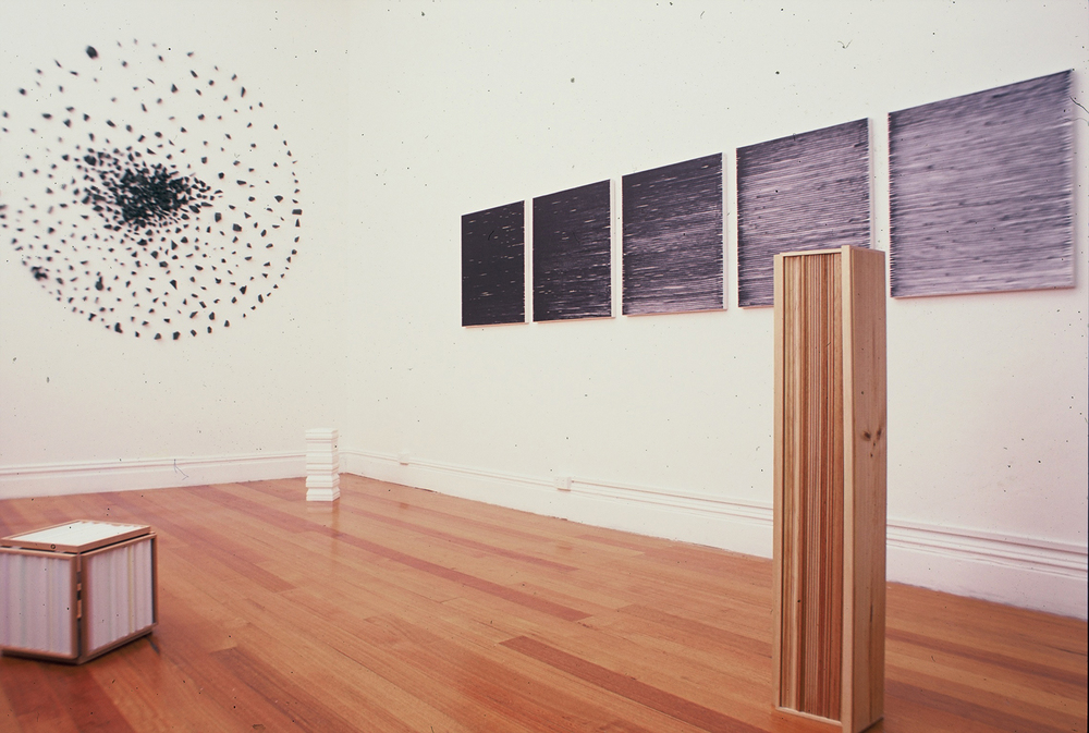 'Jason Markou, Nuha Saad and Gemma Smith' 2002  Penthouse and Pavement Gallery, Melbourne Installation view