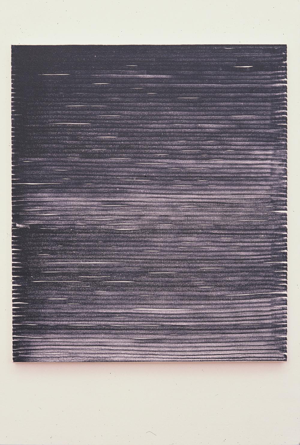 Untiltled (Artline 100) 2002  Marker on canvas