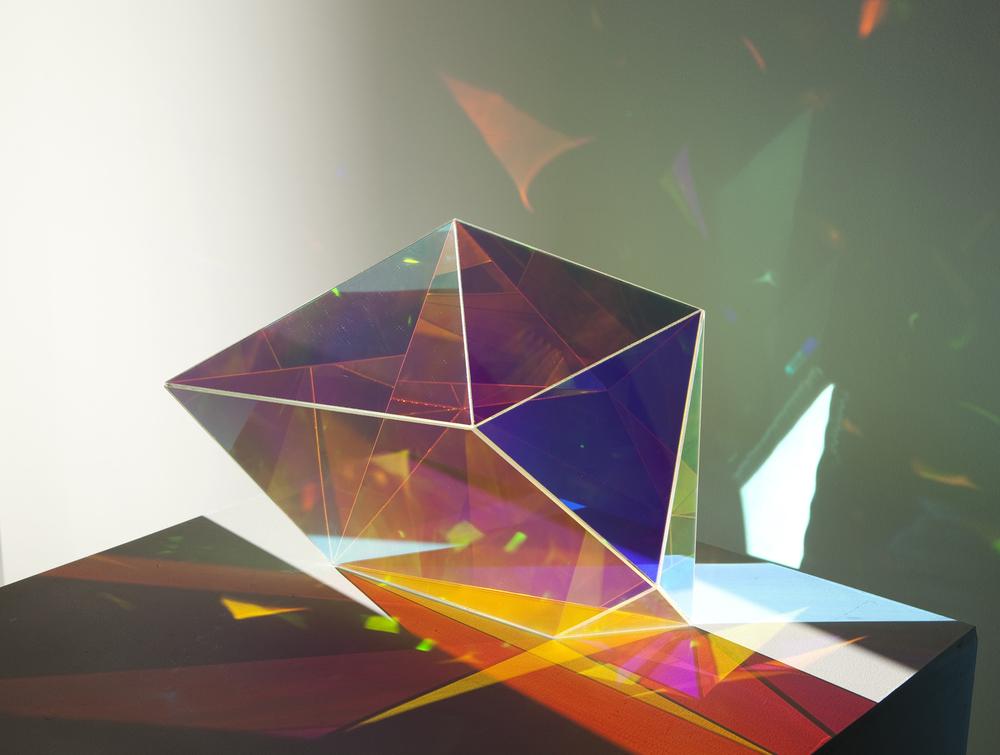 Shard  2011   Acrylic  55 x 30 x 40cm