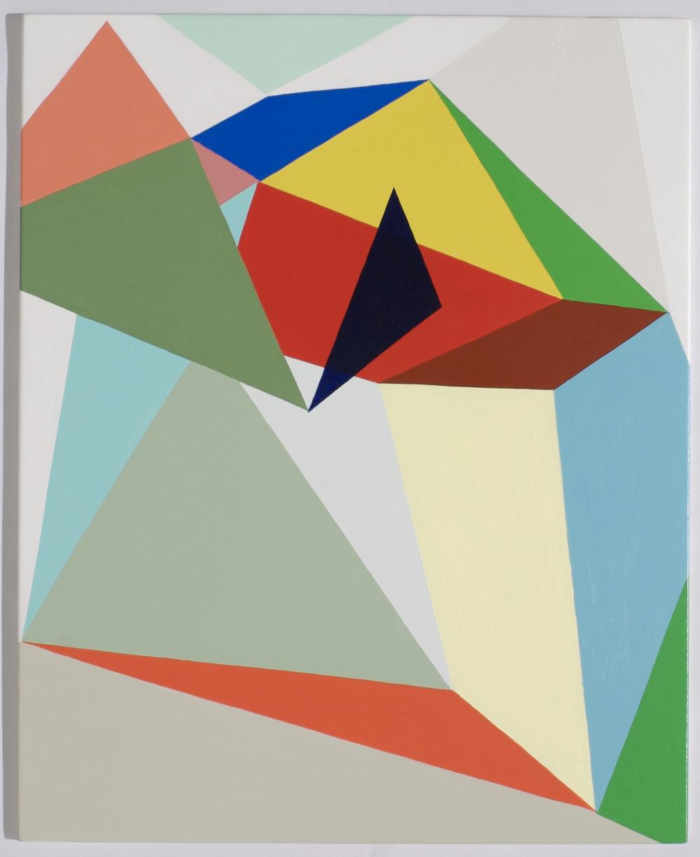 Untitled #7  2008  Acrylic on board  34 x 27.5cm