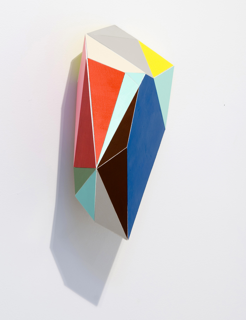 Magnetic Adaptable #5 2007  Acrylic on board, magnets