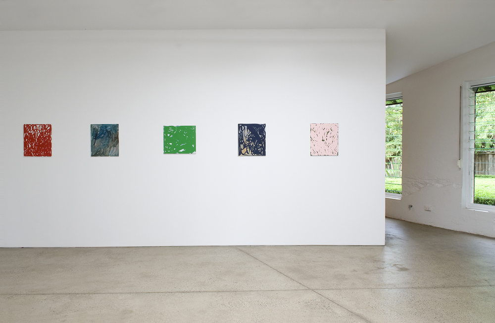 'Sudden Double'  2010  Sarah Cottier Gallery, Sydney Installation view