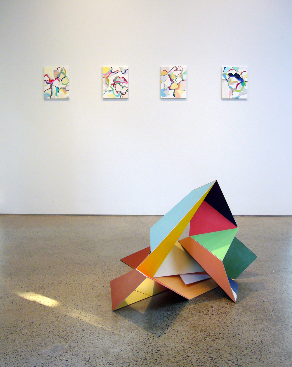 'Gemma Smith' 2006  Sarah Cottier Gallery, Sydney Installation view