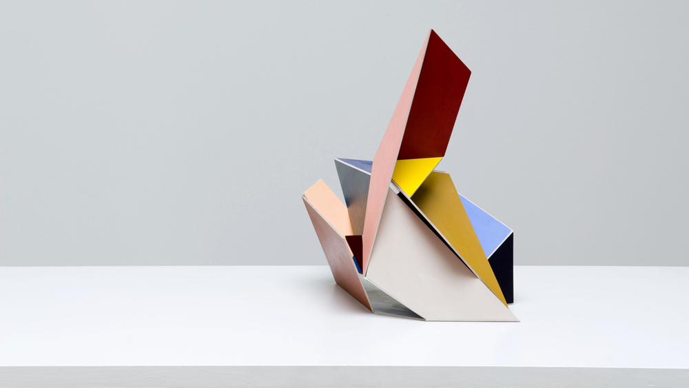 Multicoloured Adaptable #4 2008  Acrylic on aircraft plywood Dimensions variable