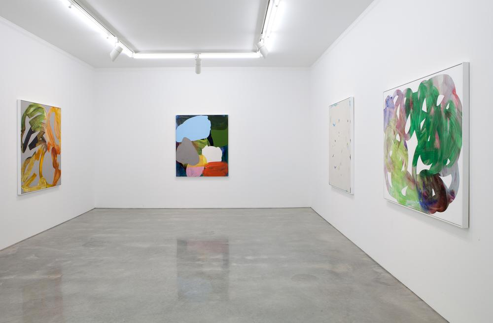 'PA Paintings'  2014  Sarah Cottier Gallery, Sydney Installation view