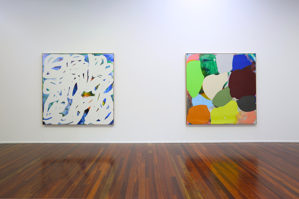 'Weight and Waver'  2015  Milani Gallery, Brisbane  Installation view