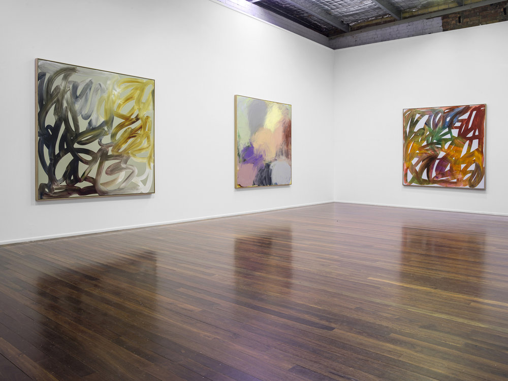 'Paintings'  2017  Milani Gallery, Brisbane  Installation view