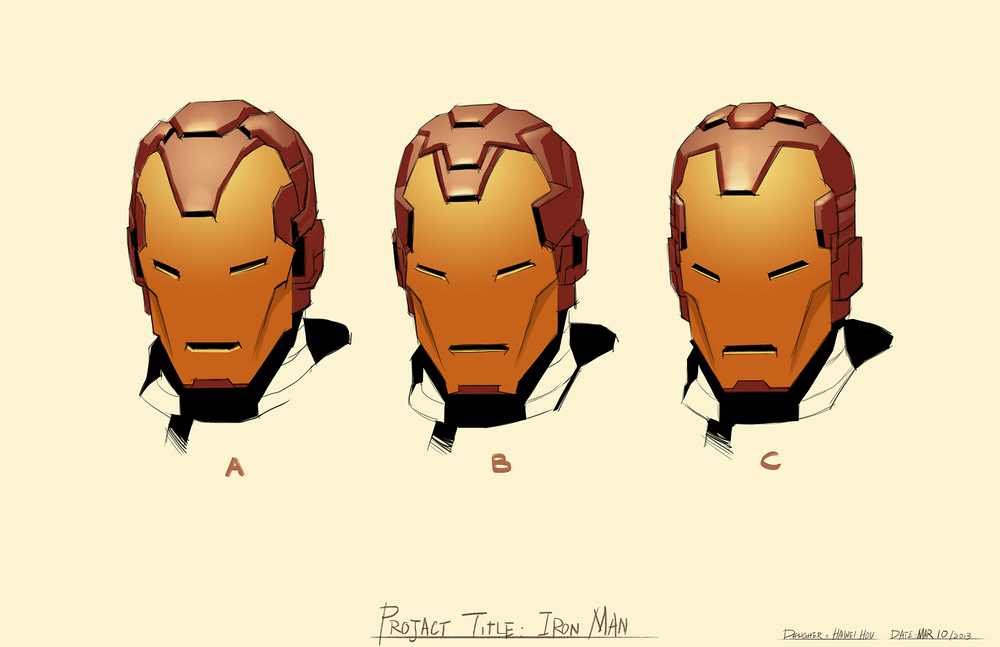 Iron Man Helmet Design
