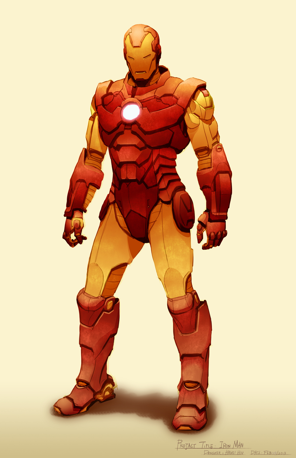 Iron Man Design - Front
