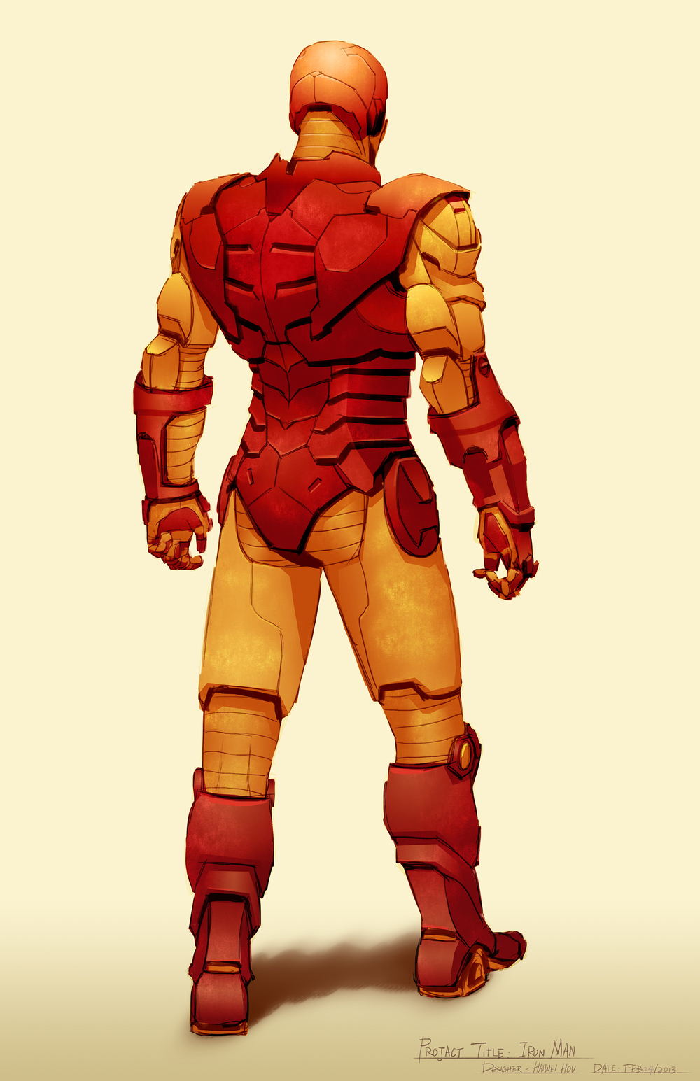 Iron Man Design - Back