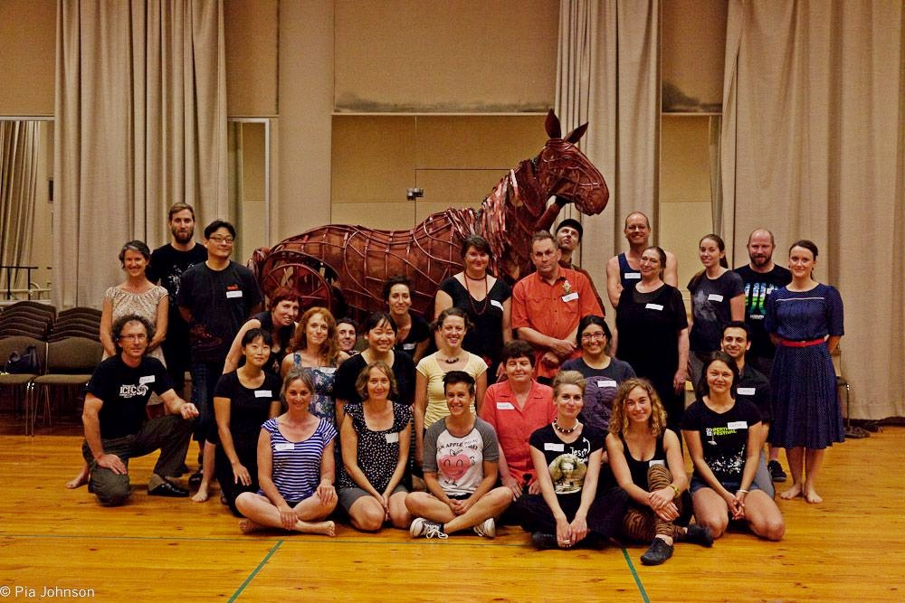 War Horse Professional Puppeteers' Workshop, 2013