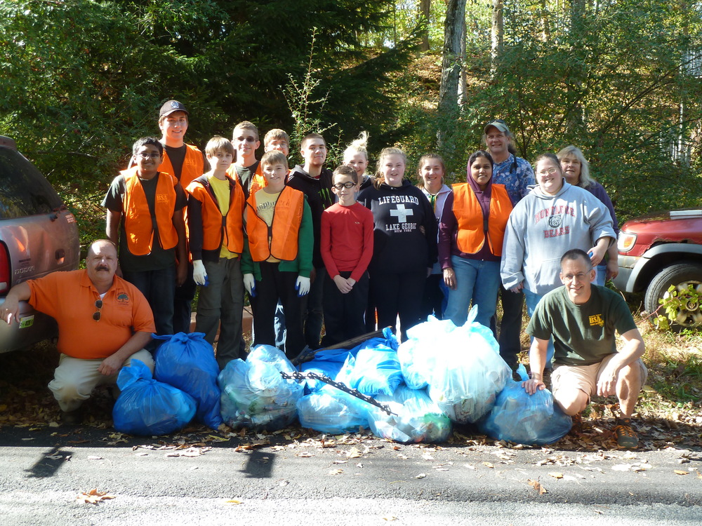 Frankford Township's 2014 International Coastal Cleanup Efforts