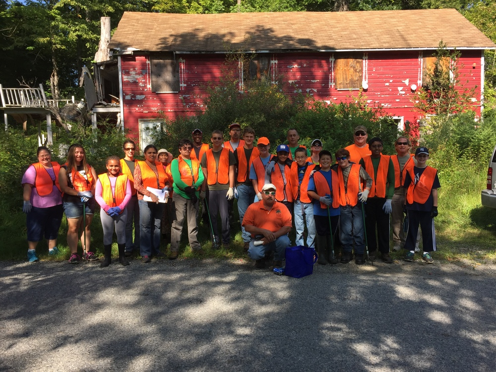 International Coastal Cleanup 2015 - Frankford Township - New Jersey