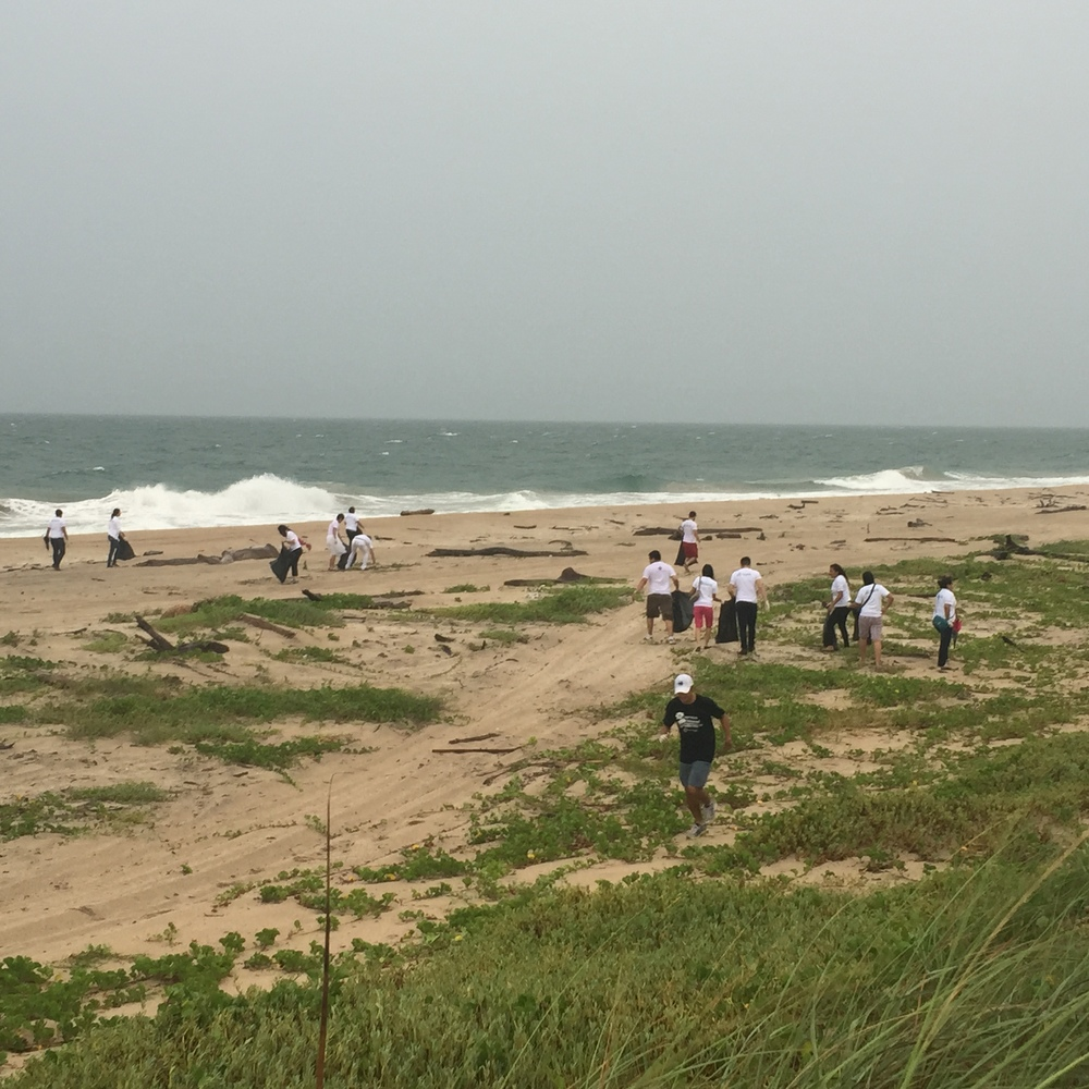 International Coastal Cleanup - Playa Miramar - Mexico - Sept 2015