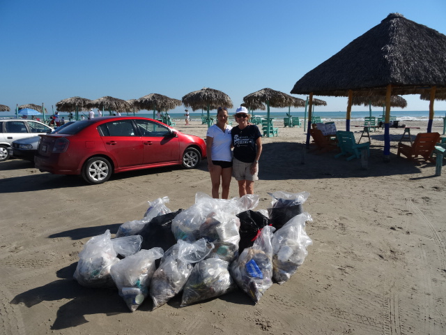 International Coastal Cleanup 2015 - Mexico - Tampico