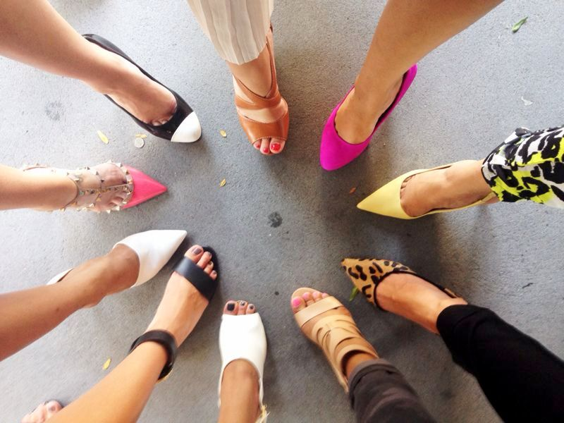 Bloggers be takin' Shoefies! But seriously, gimme all of them!