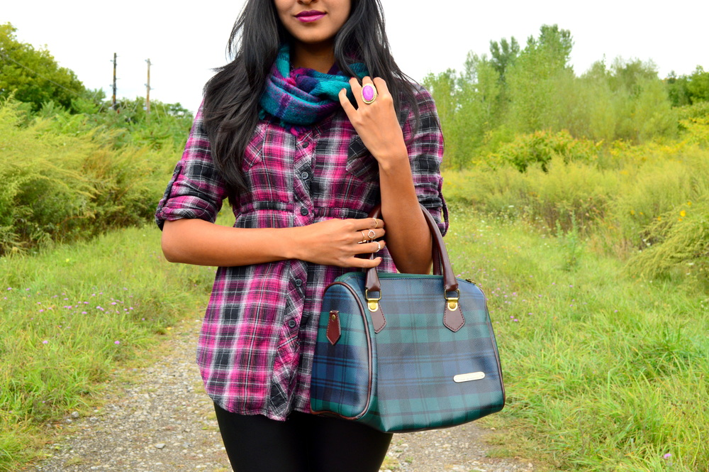 Plaid + Leather 7