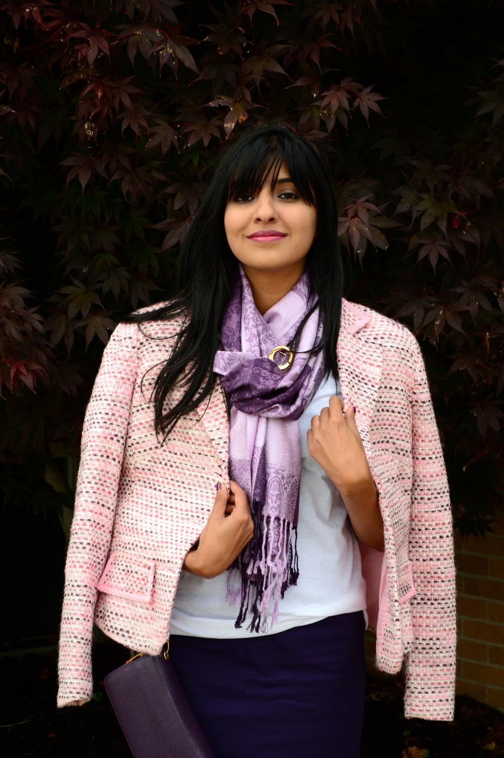 Pink Tweed 2