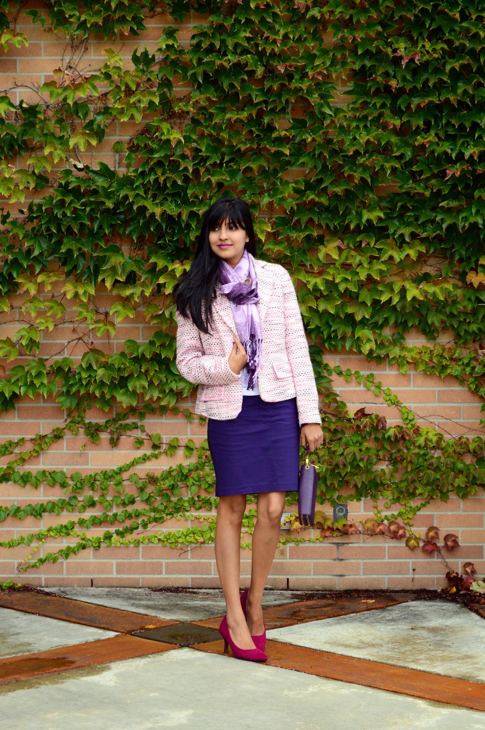 Pink Tweed 5