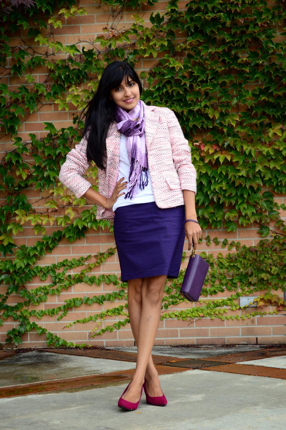 Pink Tweed 7