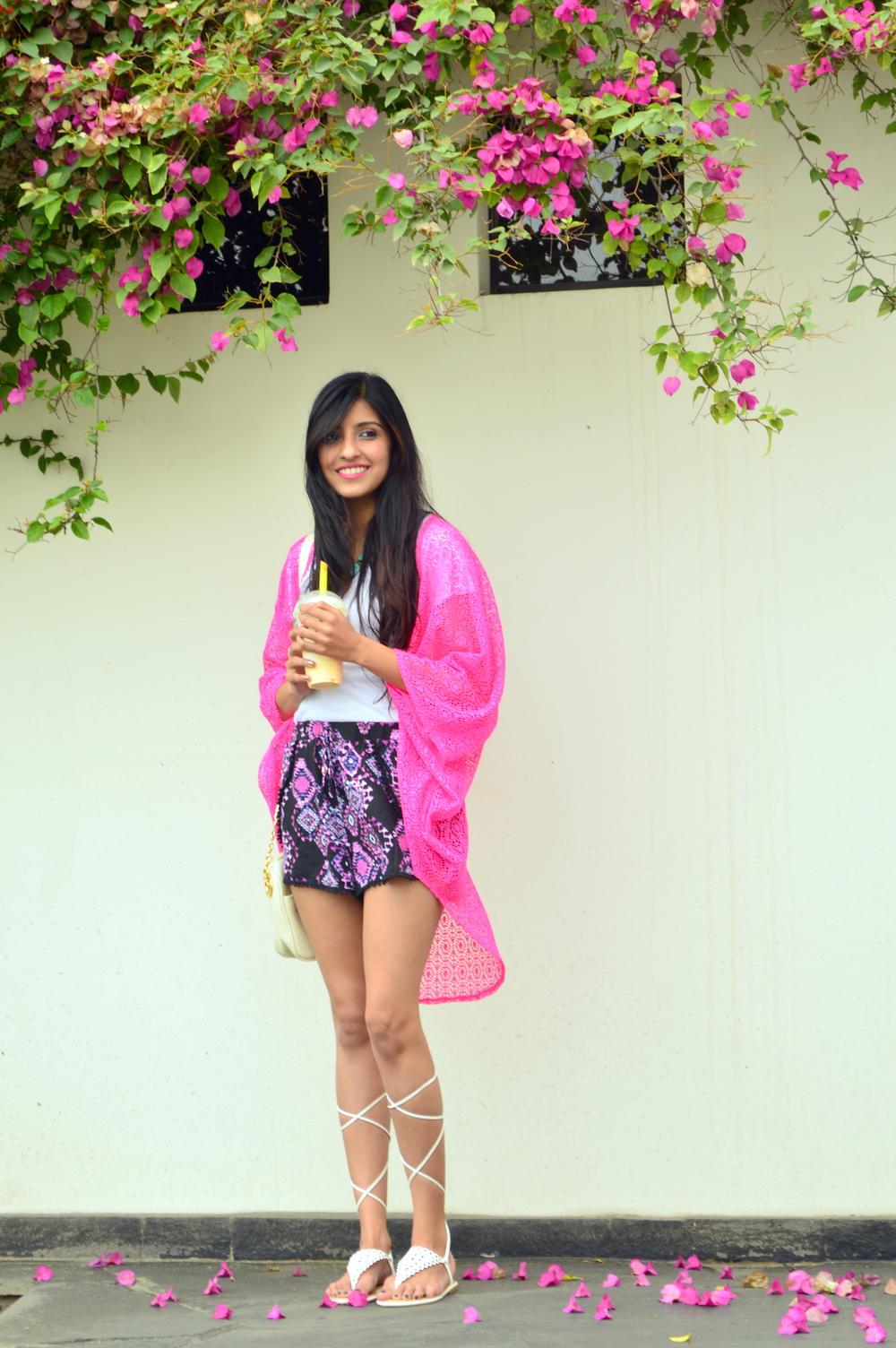 Crochet Kimono 1