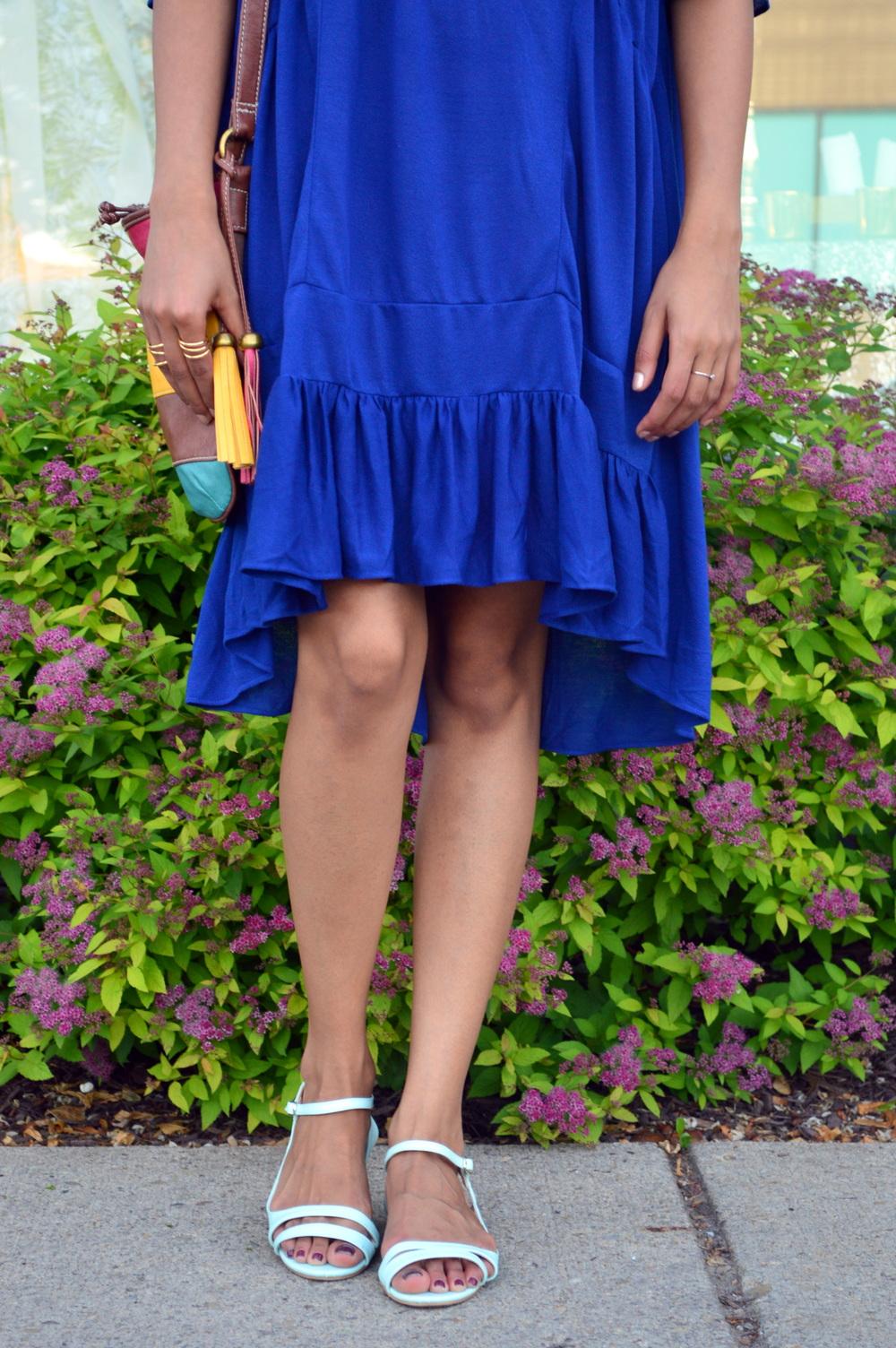 Drop waist Dress 8