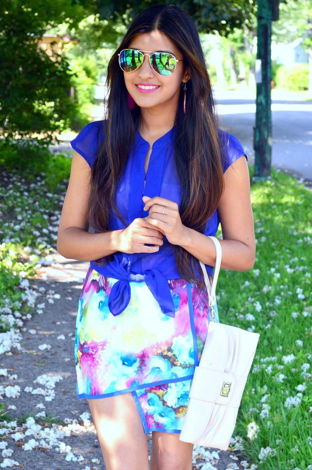 Floral Skirt 2