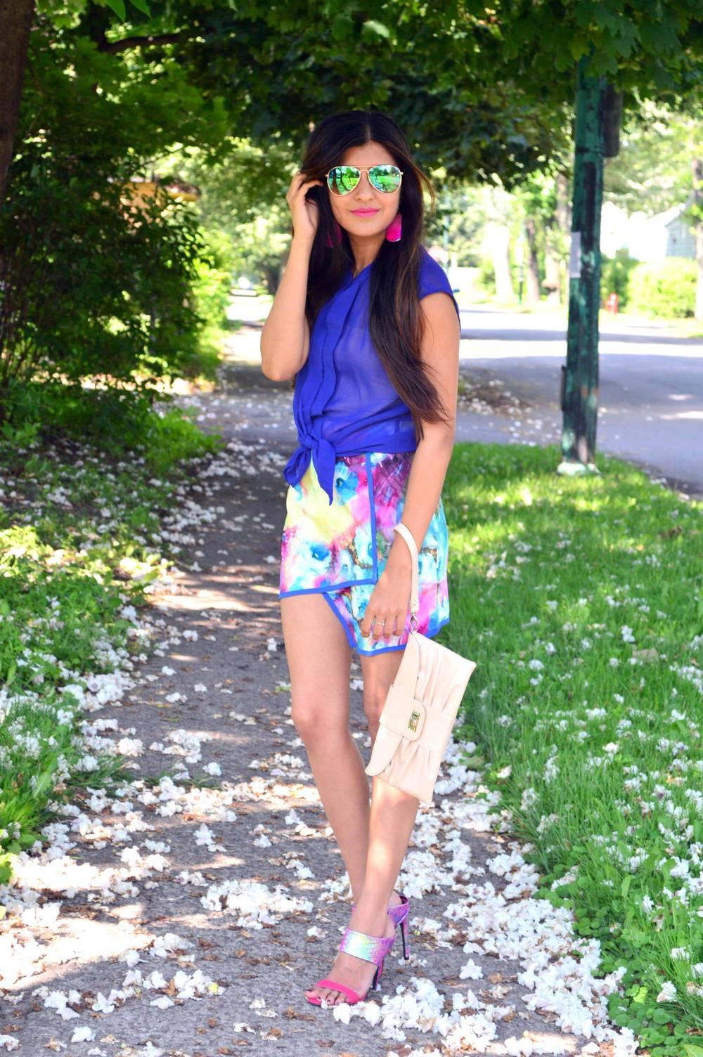 Floral Skirt 3