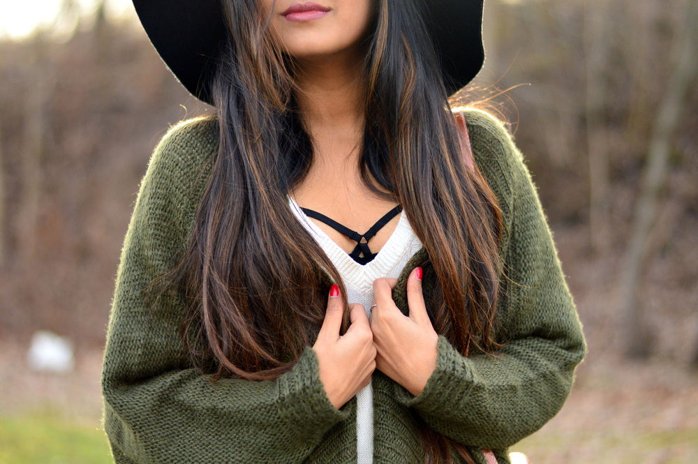 Olive Cardigan-cozy chic 4