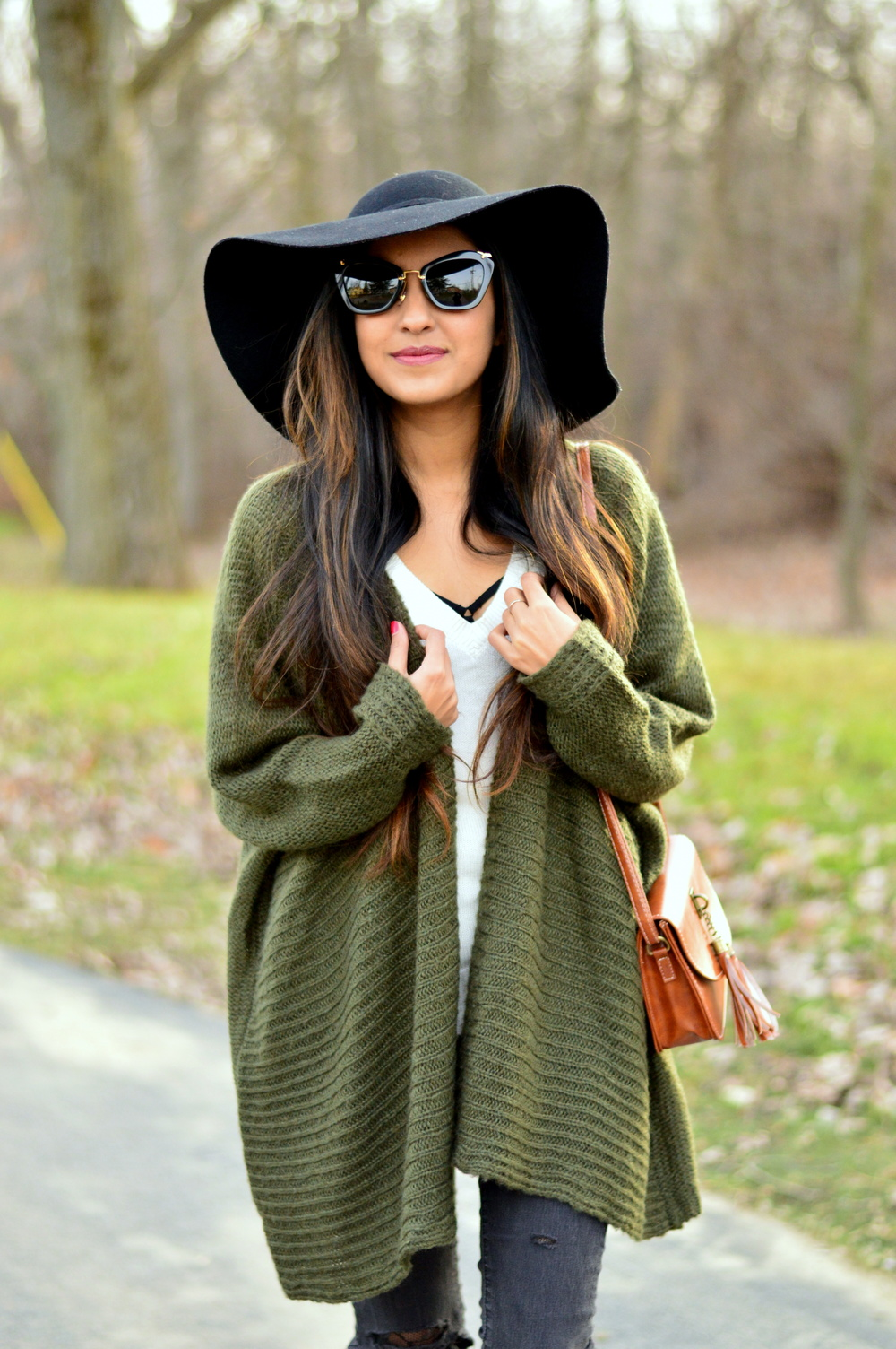 Olive Cardigan-cozy chic 6