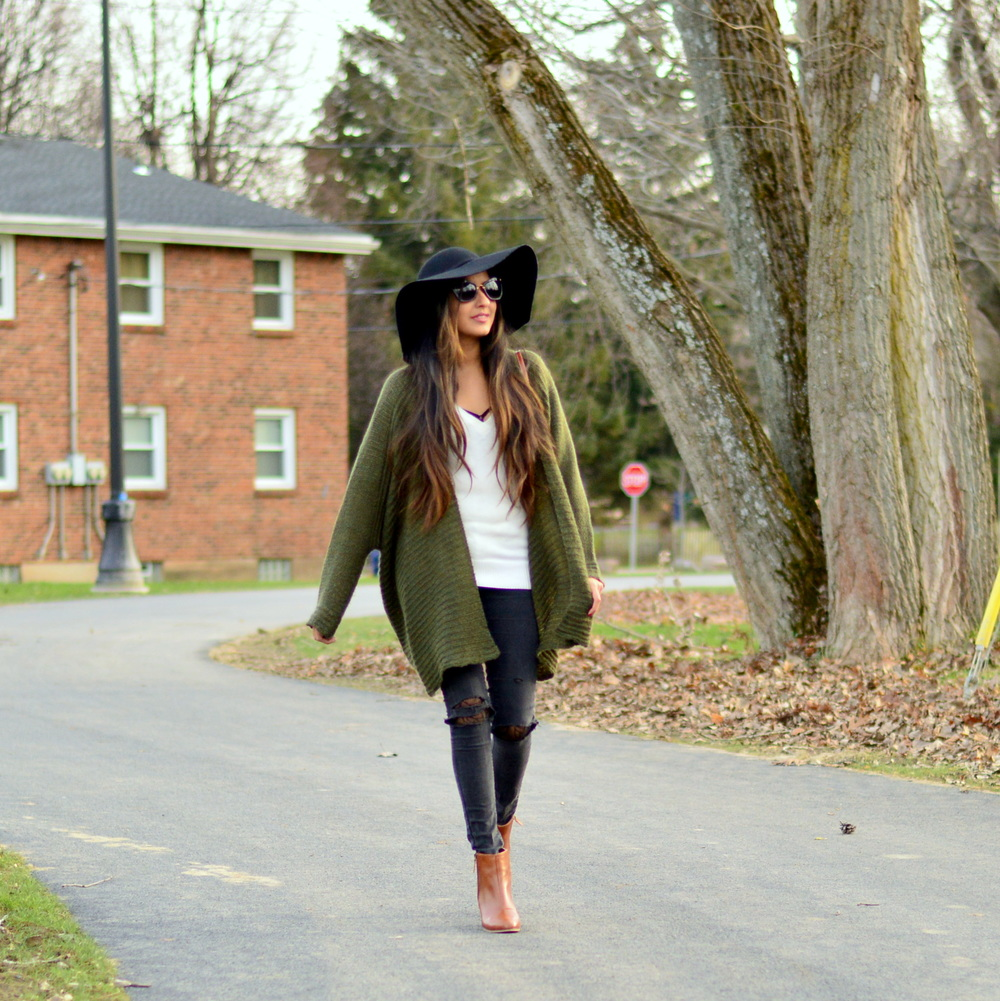 Olive Cardigan-cozy chic 8
