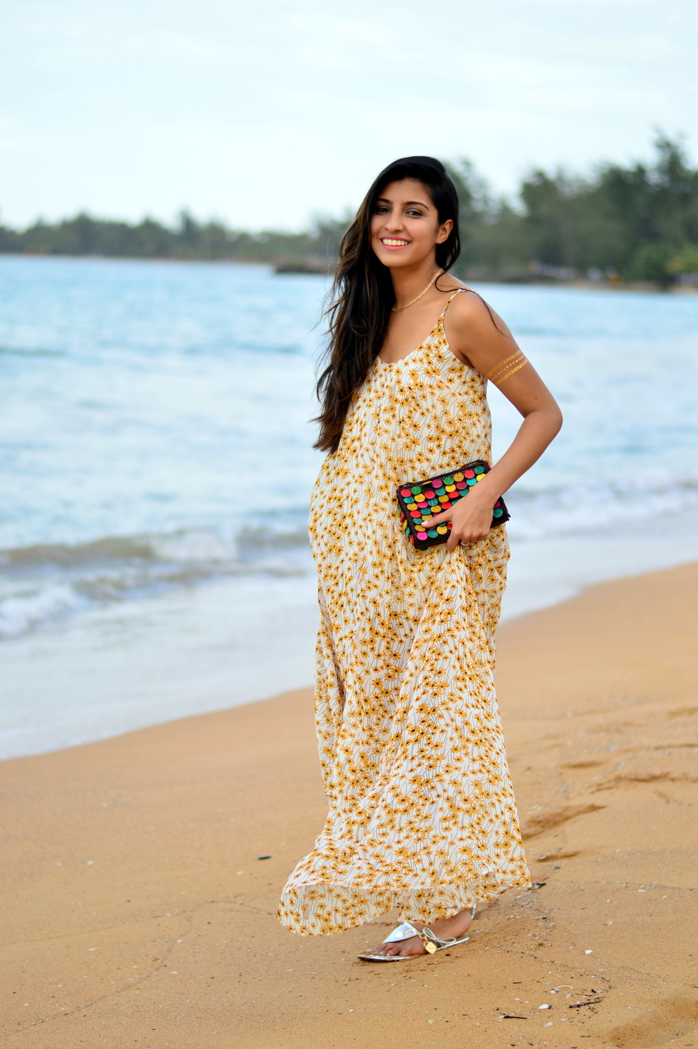 floral-maxi-dress-blogger-style 4