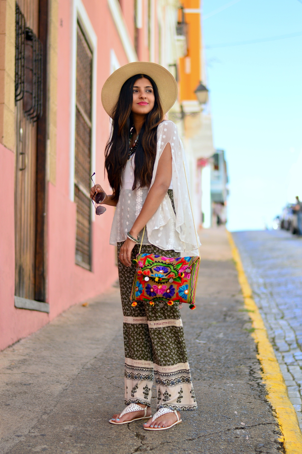 Hippie Chic: Old San Juan, Puerto Rico — Miss Minus Sized