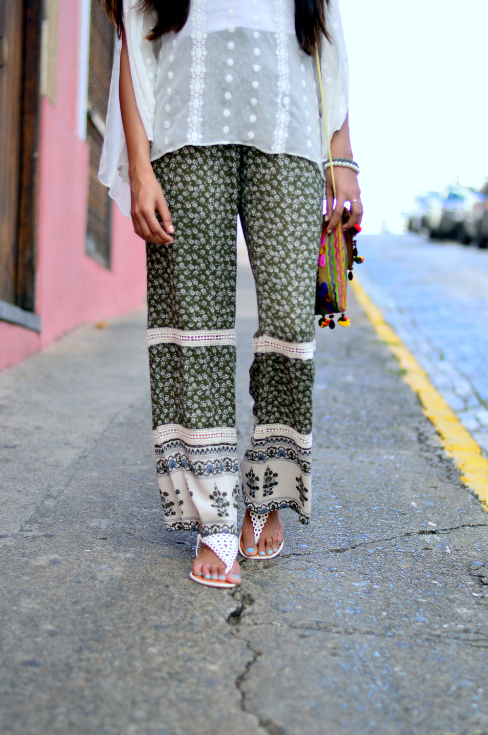 hippie-chic-festival-style-crochet-olive-palazzo-pants