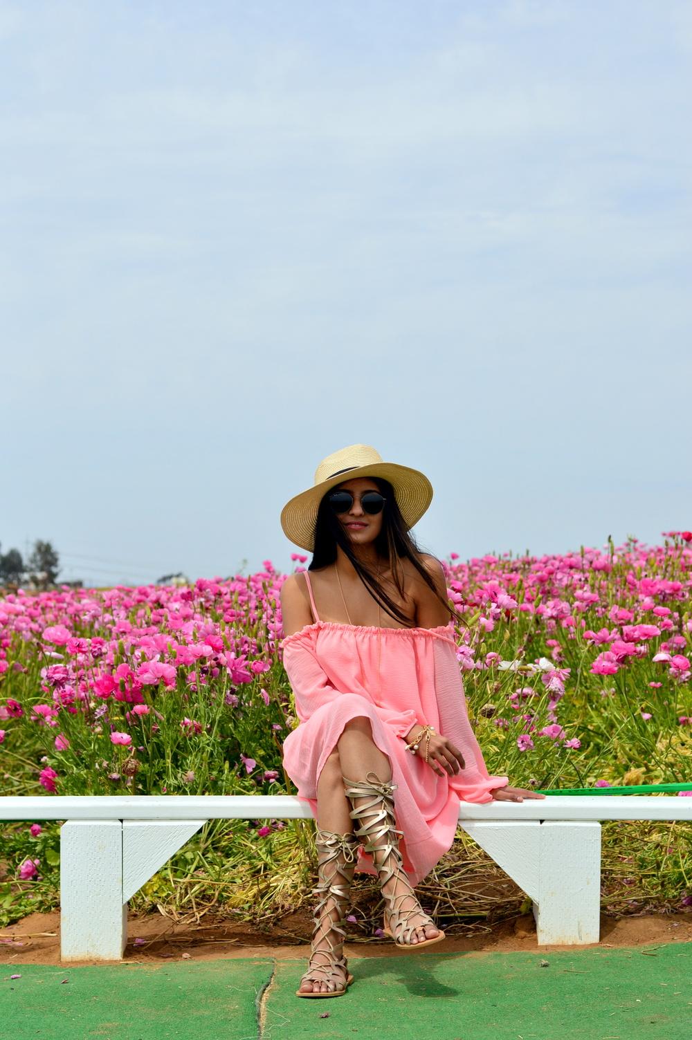 off-shoulder-dress-boho-festival-style-flower-fields