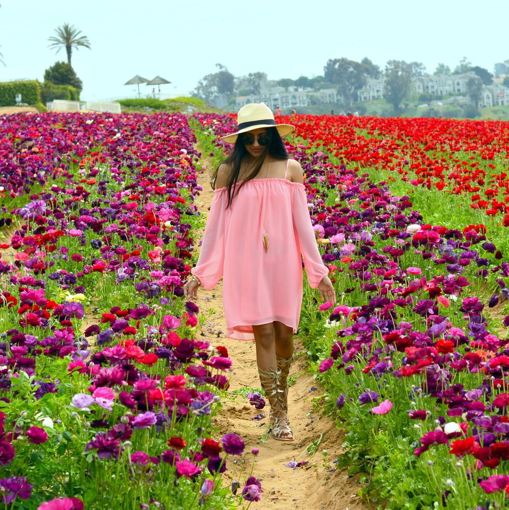 off-shoulder-dress-boho-festival-fashion-blogger-outfit