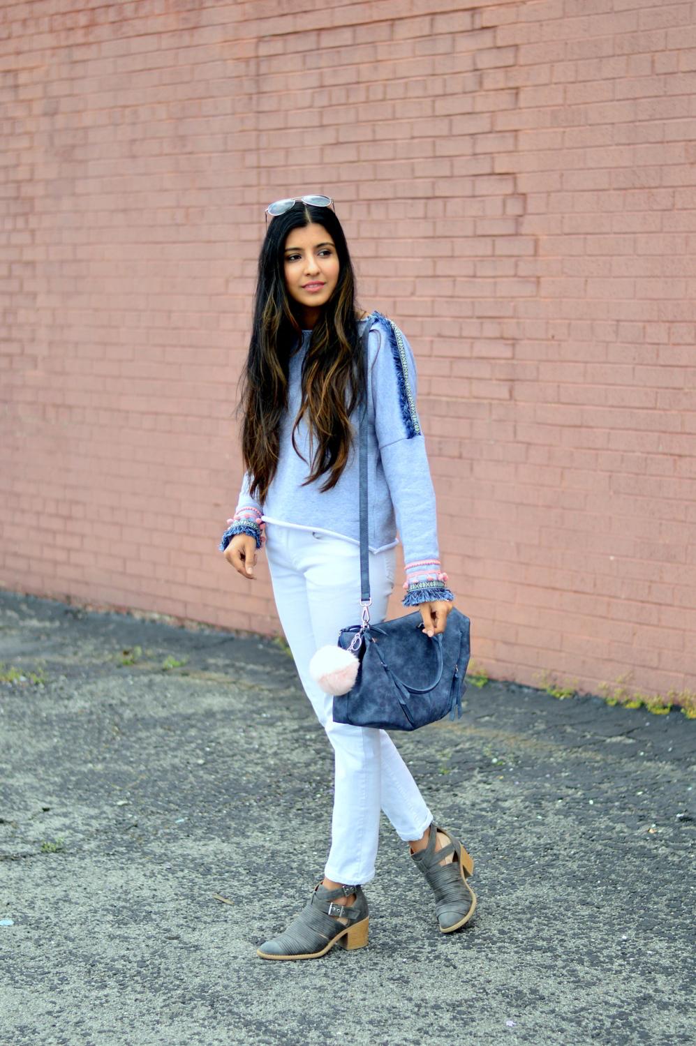 pom-fringe-sweatshirt-casual-basics-blogger-outfit