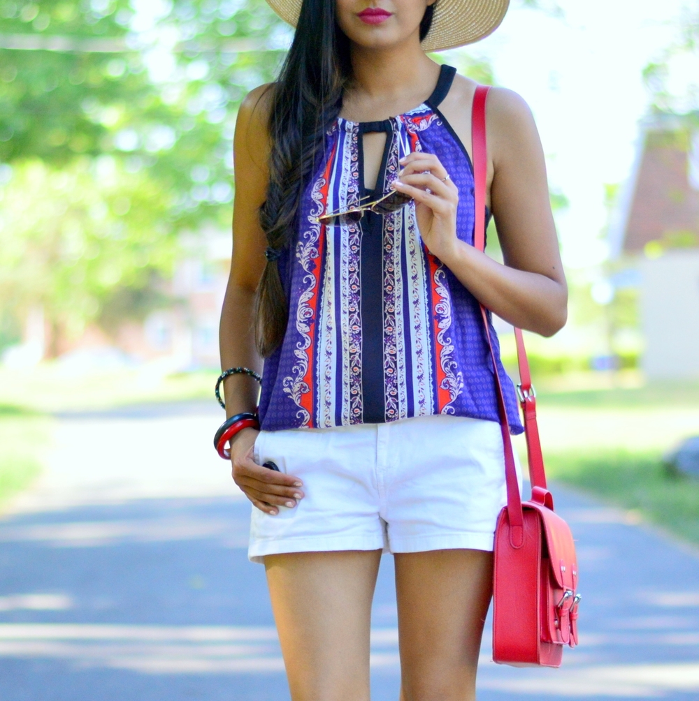 casual-summer-style-July-4th-outfit-inspiration-red-white-blue 2