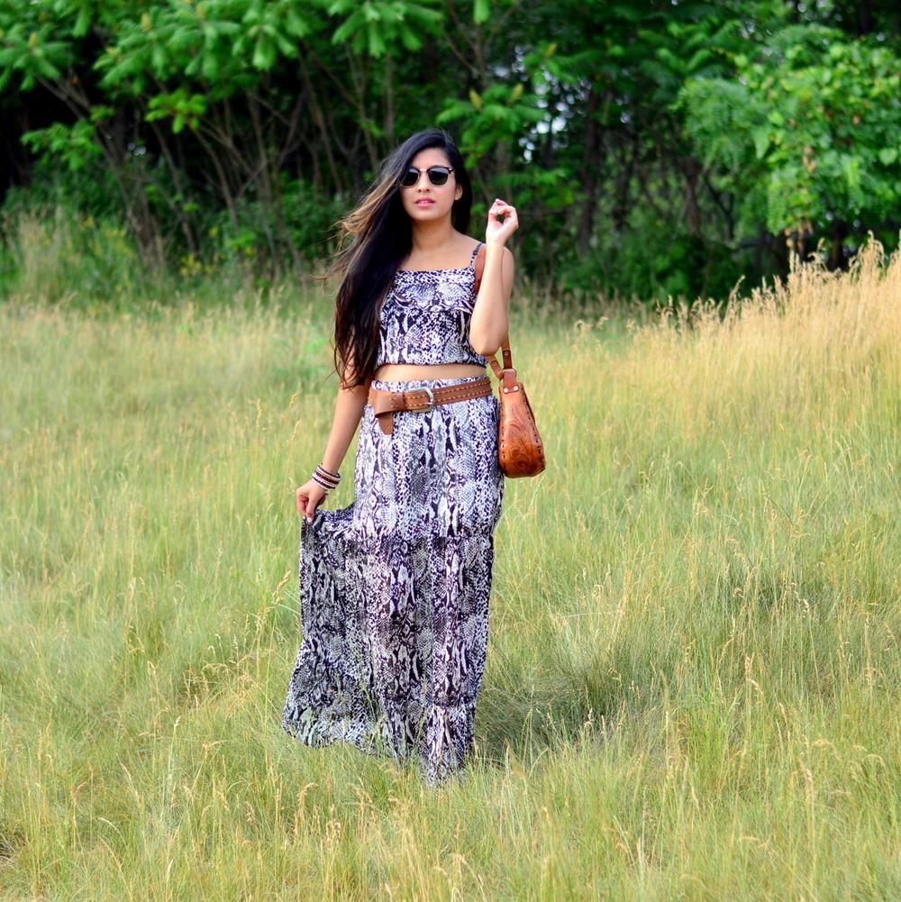 python-print-maxi-skirt-set-boho-chic-summer-style 3