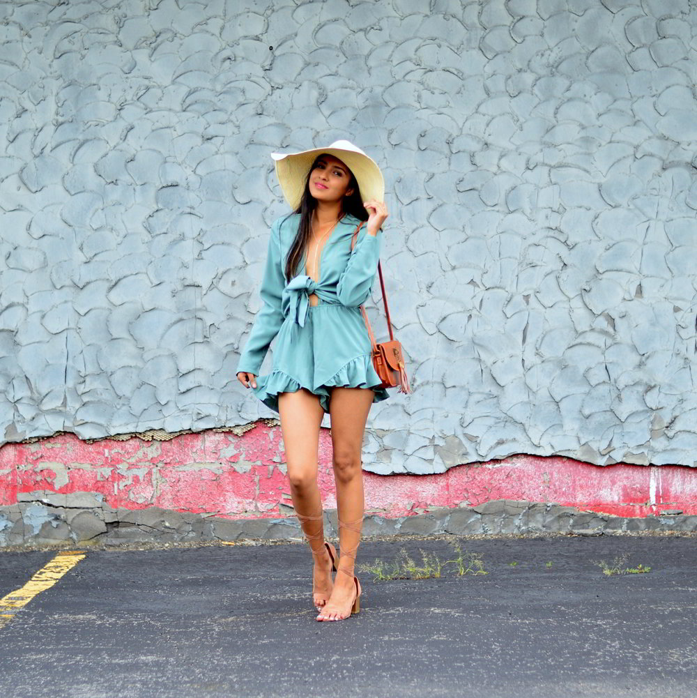 tie-front-romper-playsuit-summer-outfit-blogger-style 1