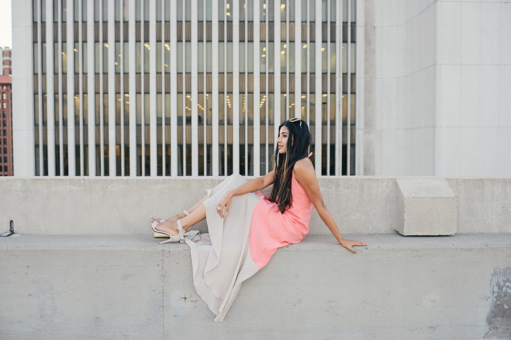 colorblock-maxi-dress-pink-sunset-buffalo-blogger-outfit 10