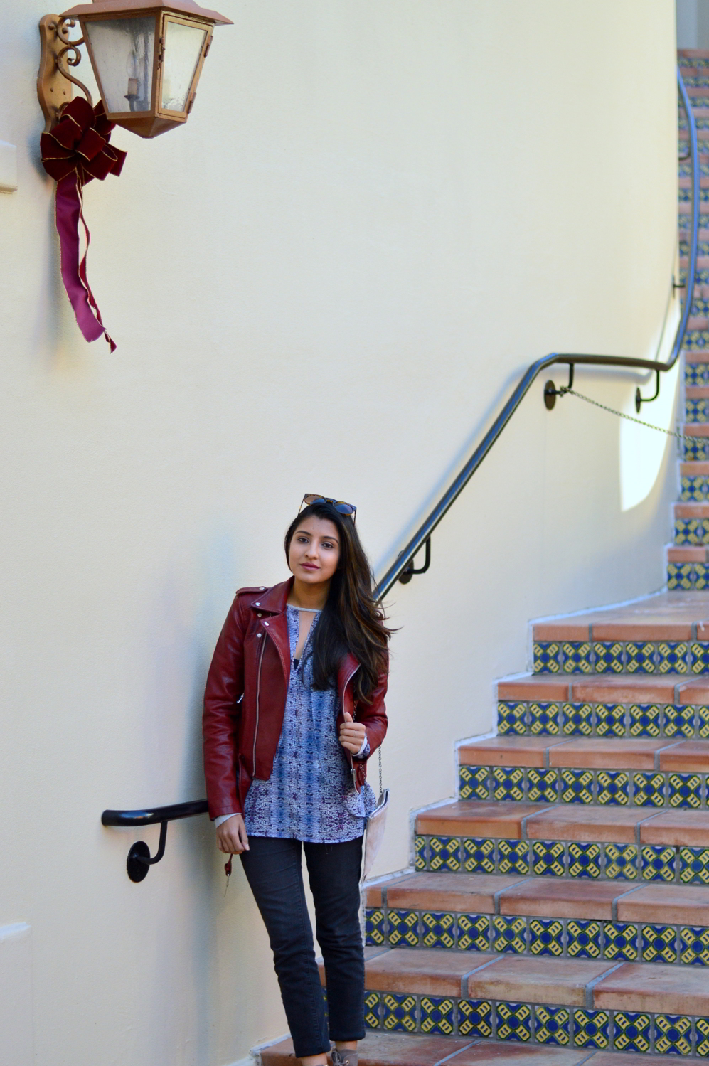 burgundy-leather-jacket-laceup-ankle-boots-casual-layers-winter-fall-blogger-outfit-style 6