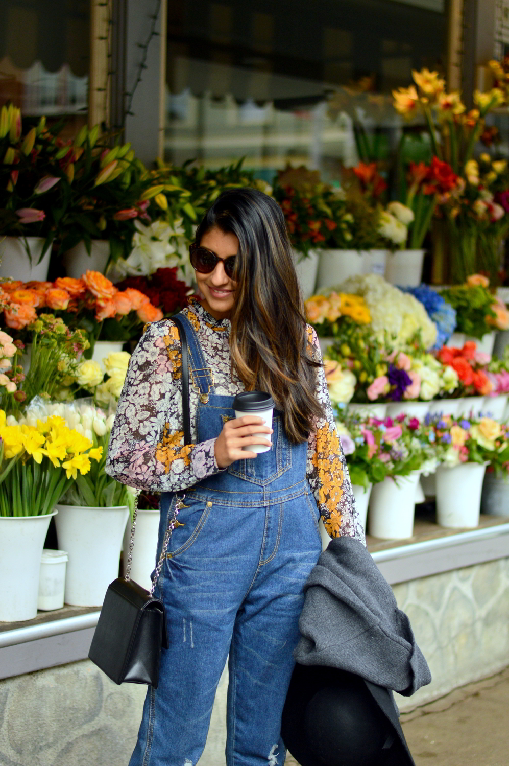 boyfriend-overalls-floral-blouse-spring-style-bud-stop-san-francisco-blogger-outfit 2