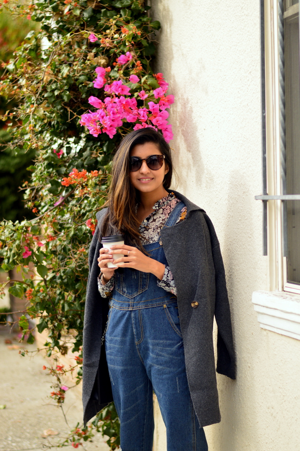 boyfriend-overalls-floral-blouse-spring-style-bud-stop-san-francisco-blogger-outfit 5