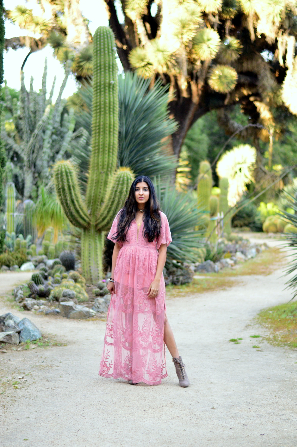 pink-lace-maxi-romper-boho-festival-fashion-bohemian-style-desert-blogger-outfit 7